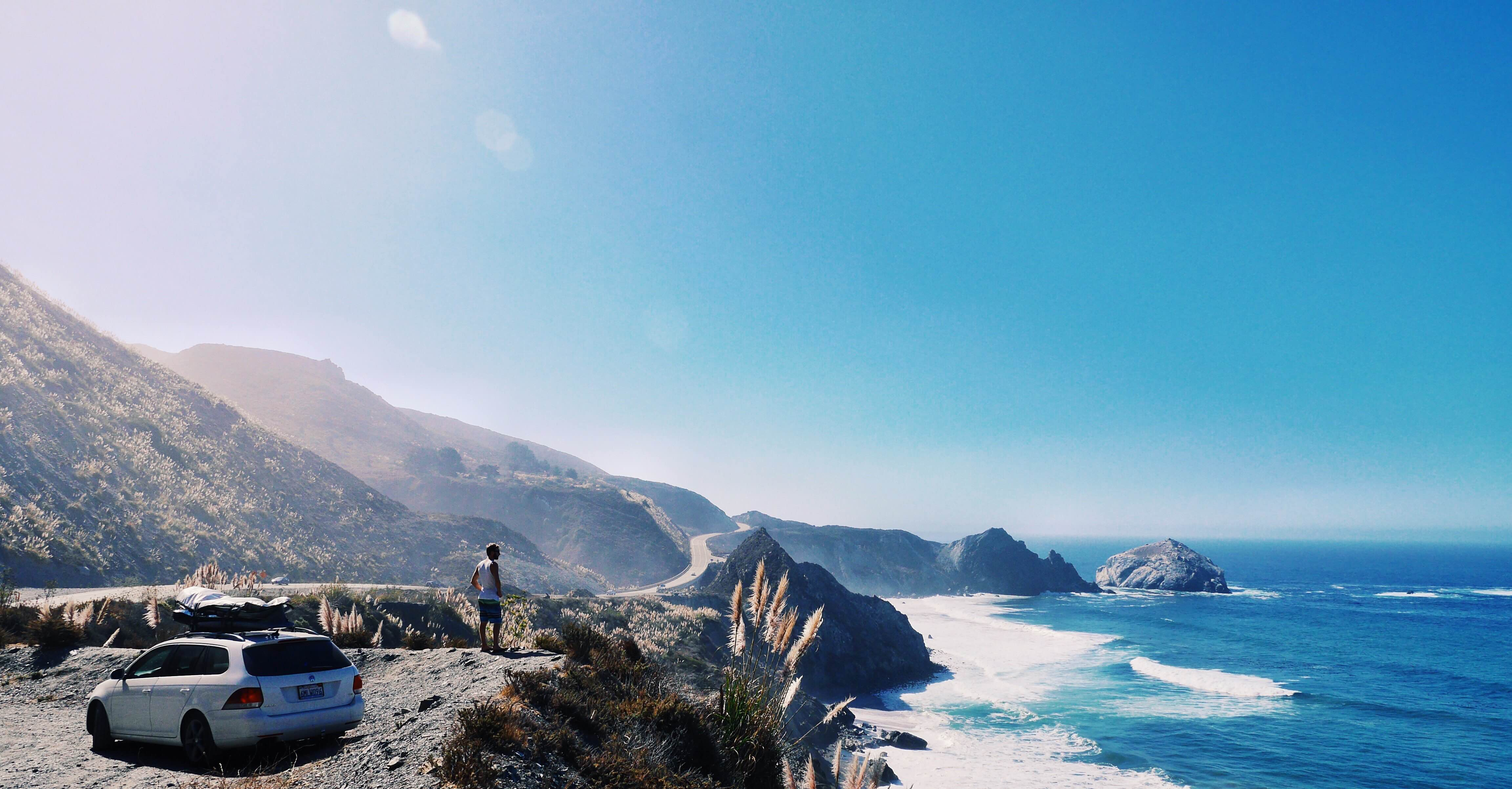 Exploring Highway 1 through Big Surf, the ultimate California scenic route.